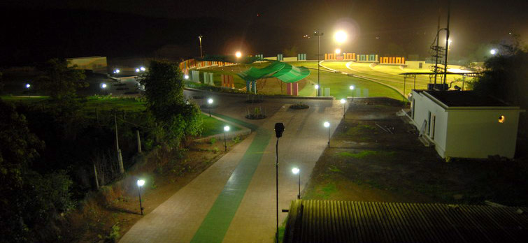 Shangrila Resort Over Night View