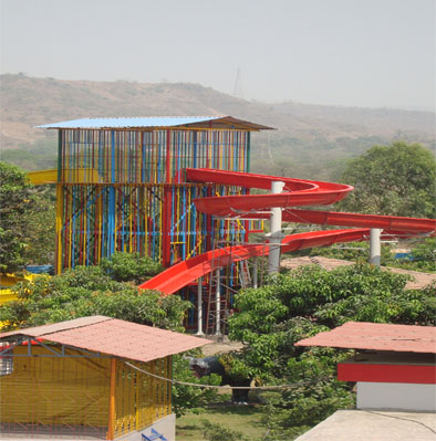 Shiv Ganga Resort Huge Slides