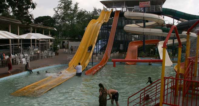 Kumar Resort Water Slides