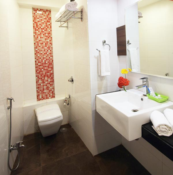 Biji's Resort Luxurious Bathrooms
