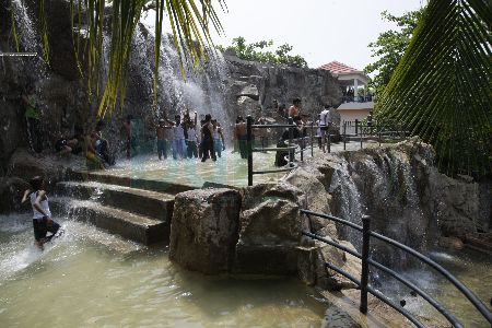Shangrila Resort Waterfall