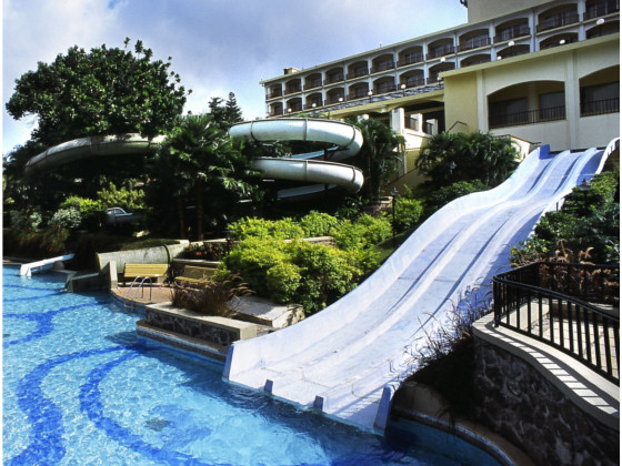 Fariyas Resort Water Slide